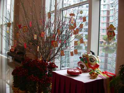 Chinese lunar new year for Interior decoration for new year